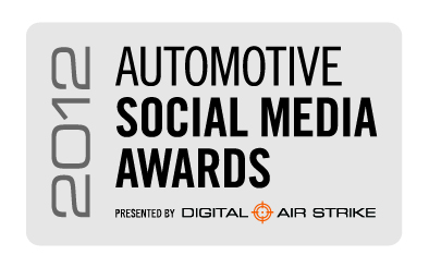 2012 Automotive Social Media Awards logo